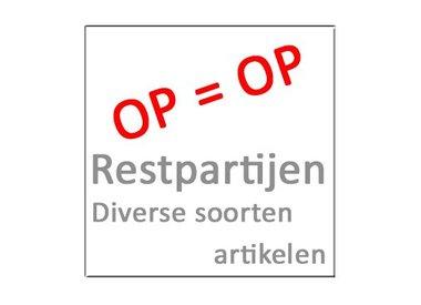 Restpartijen OP=OP