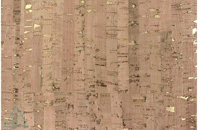 Kurkleer Bamboo met Goud