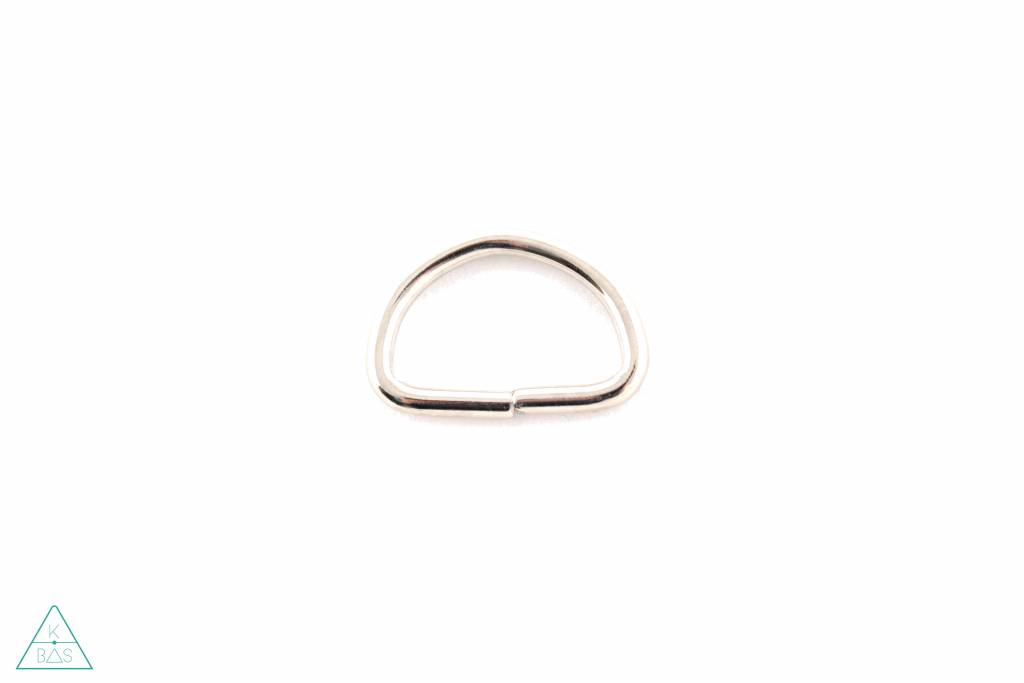 D-ring Nikkel 25mm