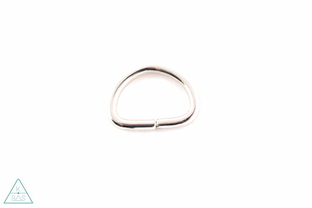 D-ring Nikkel 20mm