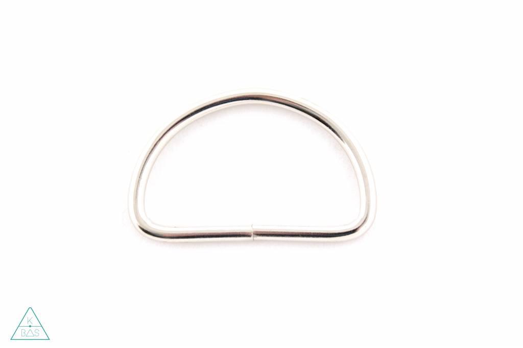 D-ring Nikkel 50mm
