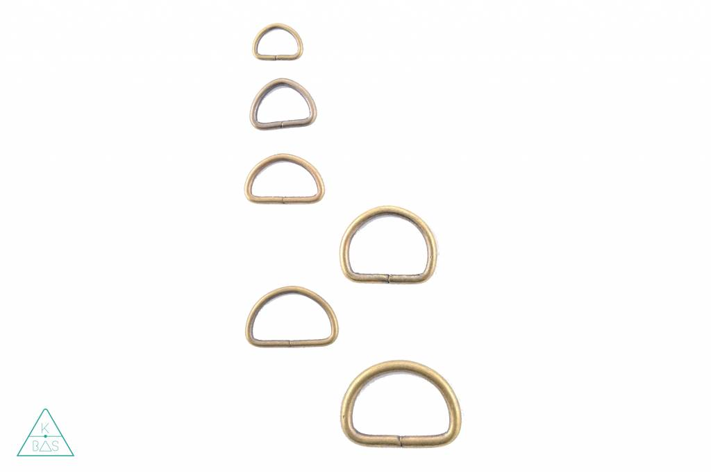 D-ring Brons 20mm