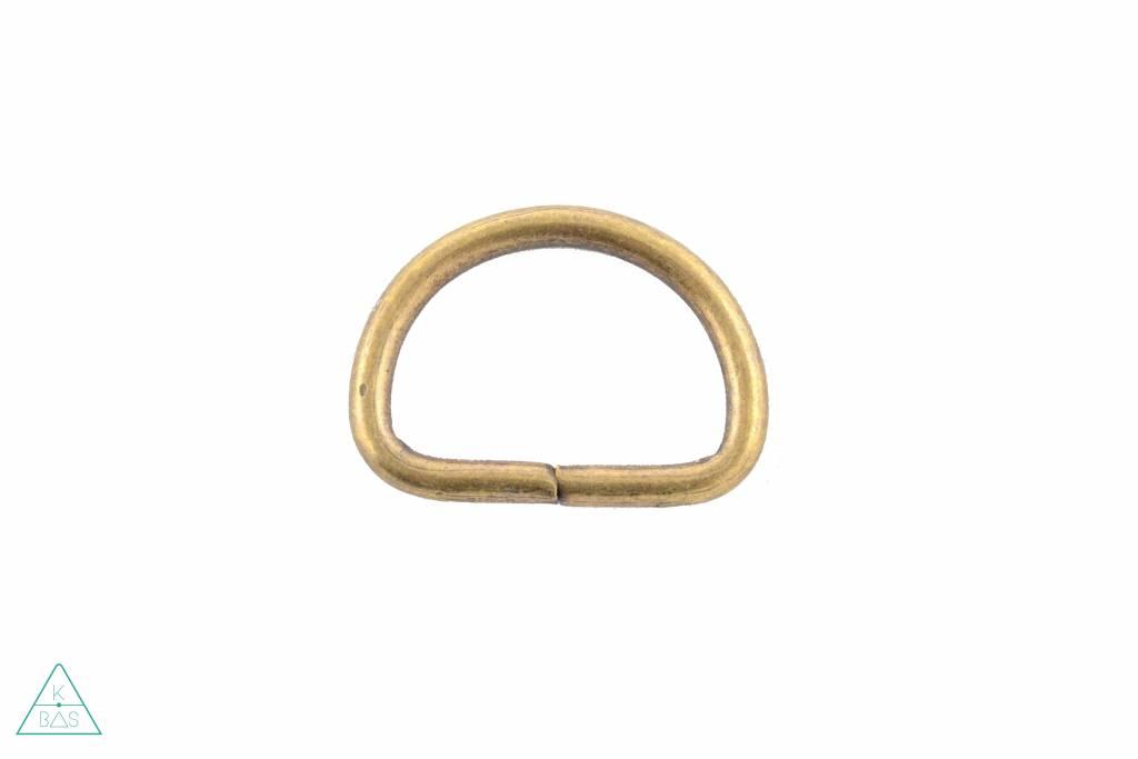 D-ring Brons 38mm - zwaar