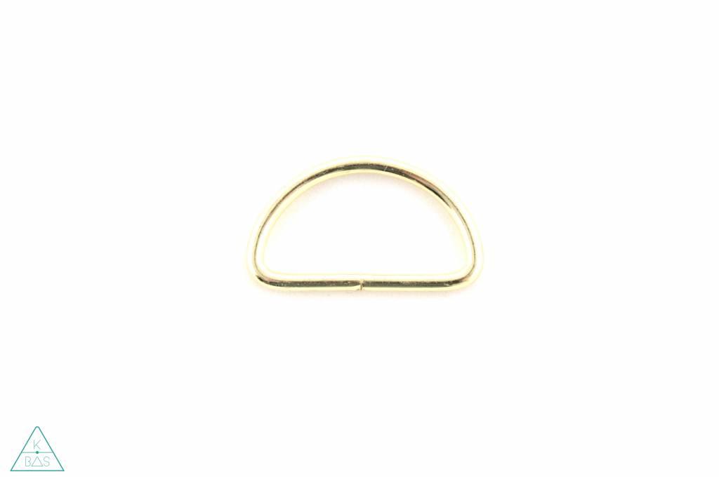 D-ring Goud 32mm - Fijn
