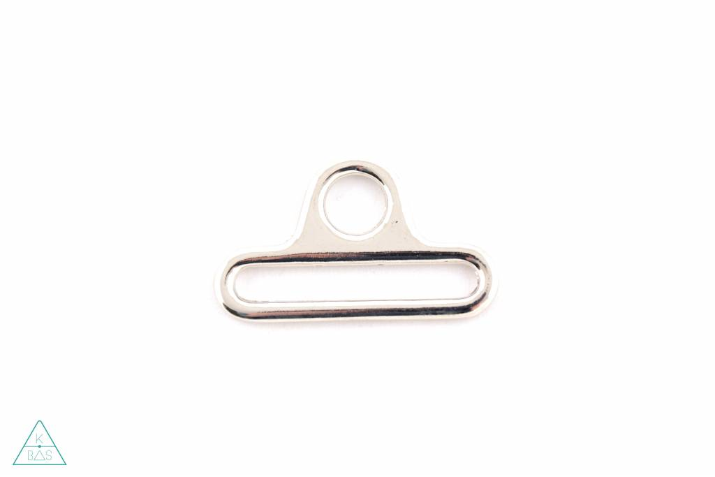 Luxe D-ring (triangel) 40mm