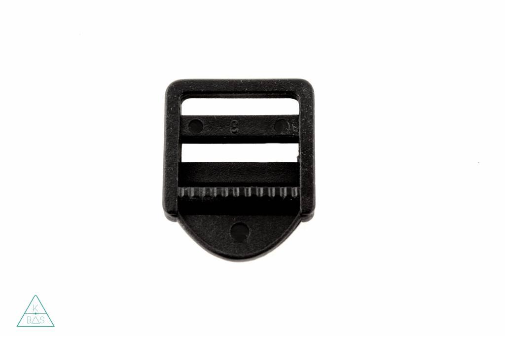 Laddergesp Kunststof Zwart 30mm