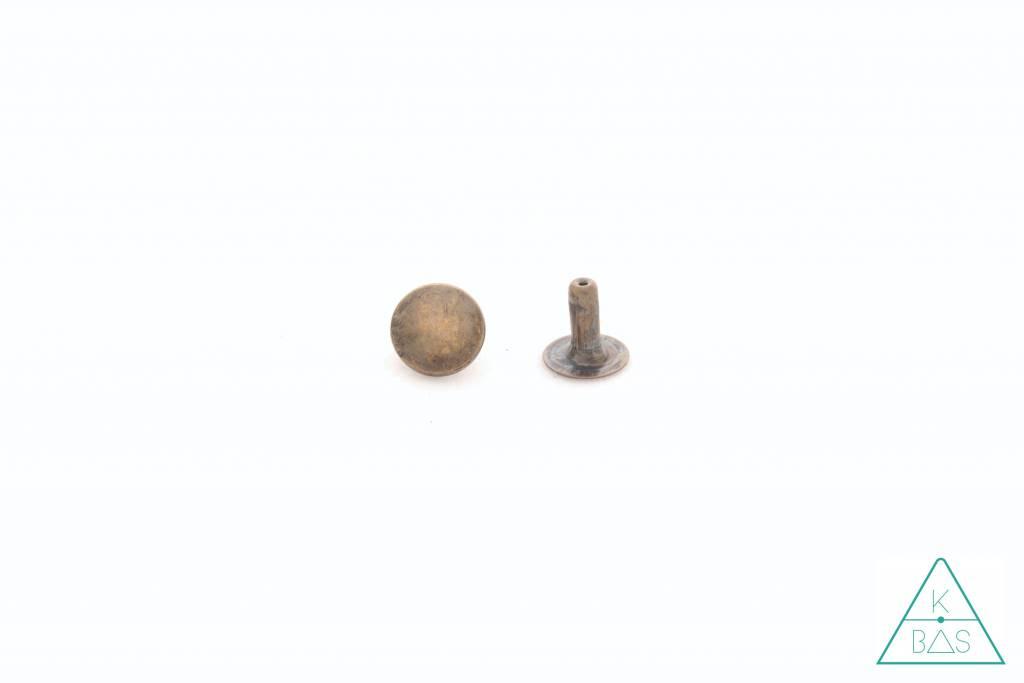 Holnieten Brons 9mm (10st)