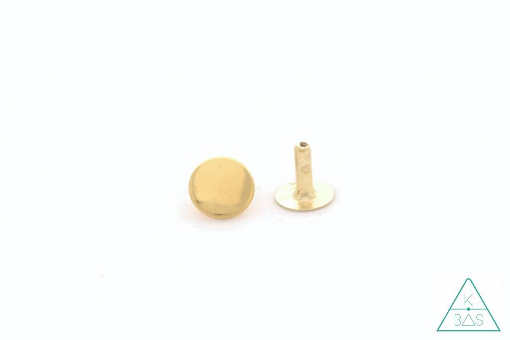 Holnieten Goud 13mm (10st)