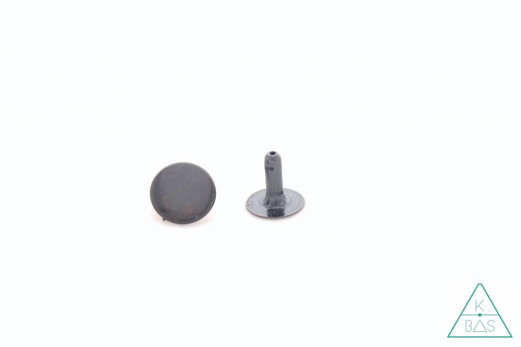 Holnieten Zwartbruin 13mm (10st)