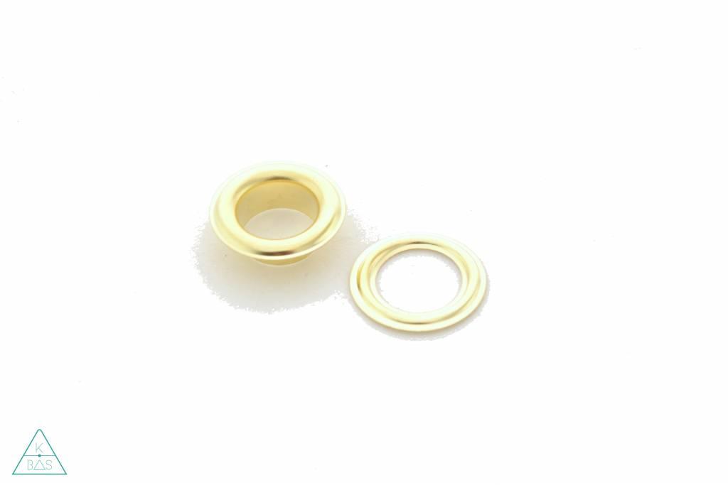 Zeilring Goud 14mm