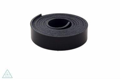 Leren riem Zwart 19mm
