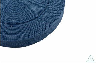 Tassenband Jeansblauw 32mm