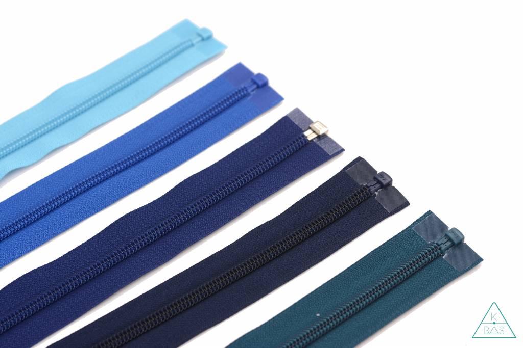 YKK Deelbare Spiraalrits 65cm Turquoise