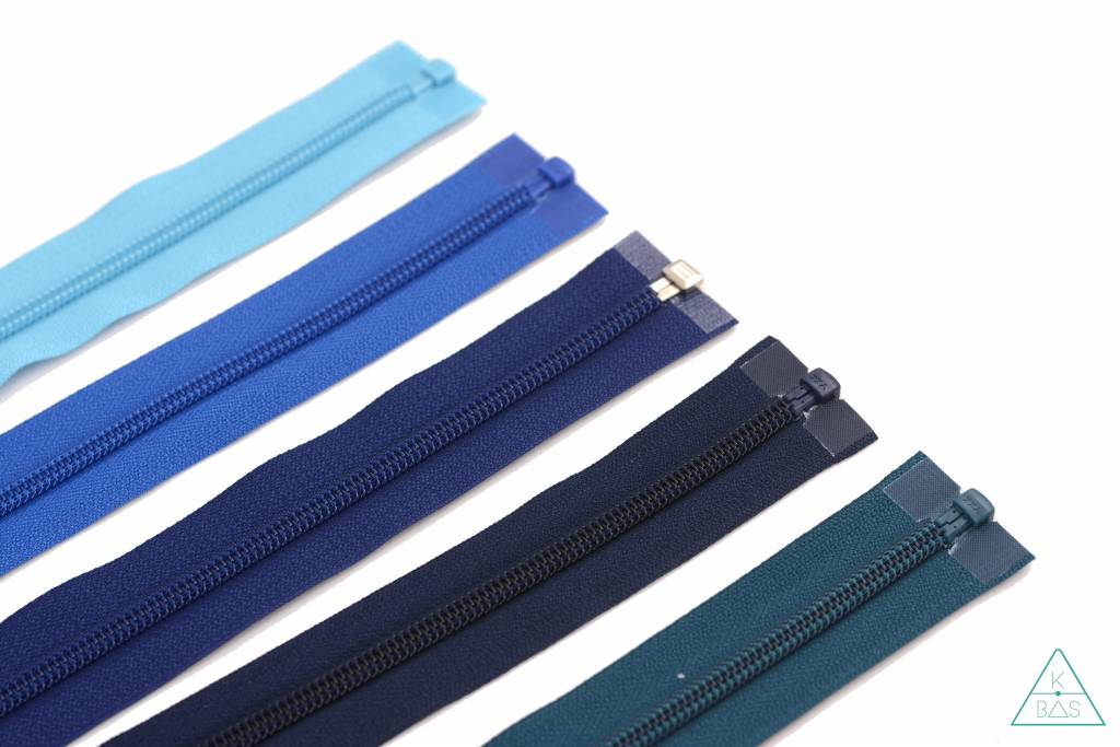 YKK Deelbare Spiraalrits 65cm Diepblauw