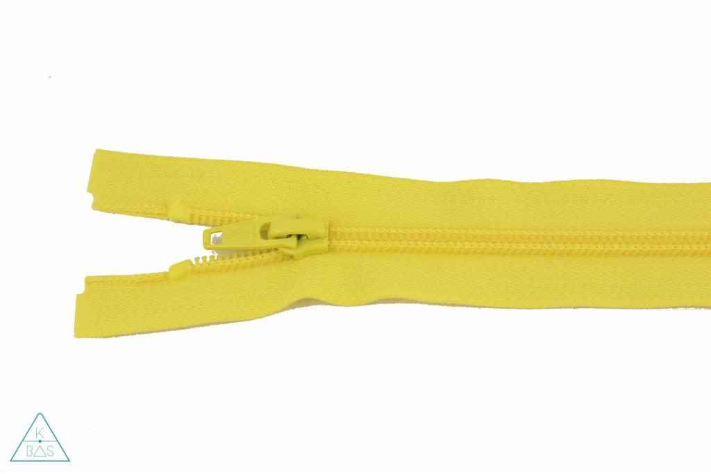 YKK Deelbare Spiraalrits 65cm Citroengeel