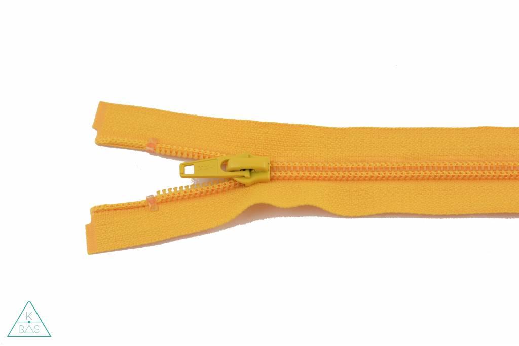 YKK Deelbare Spiraalrits 65cm Warmgeel