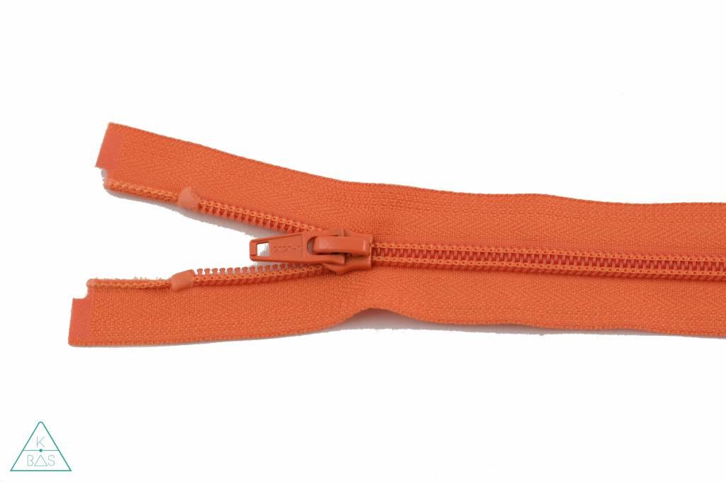 YKK Deelbare Spiraalrits 45cm Oranje