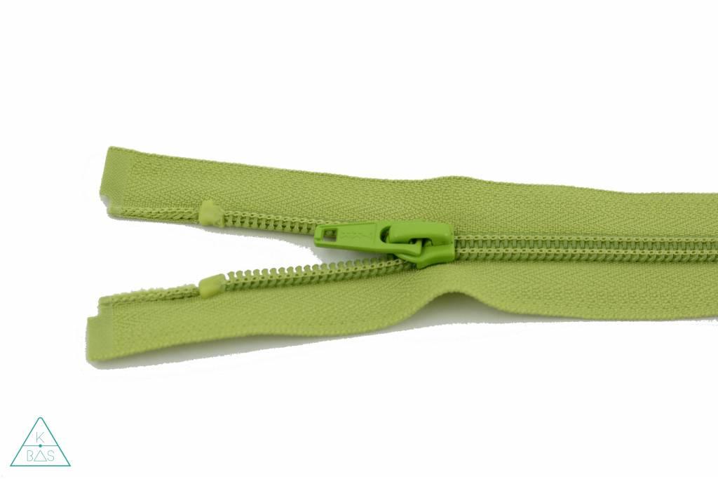 YKK Deelbare Spiraalrits 45cm Lime