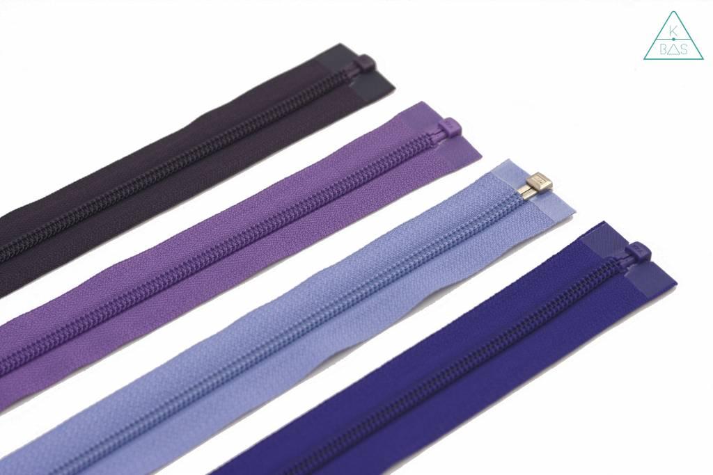 YKK Deelbare Spiraalrits 45cm Lavendelpaars