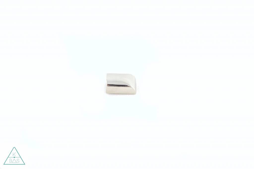 Ritsklem in nikkel (6mm)
