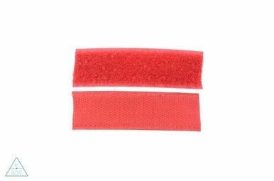 Klittenband 25mm Rood