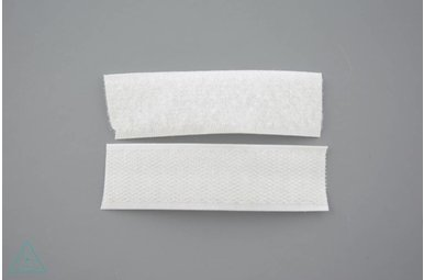 Klittenband 25mm Wit