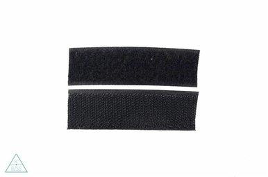 Klittenband 25mm Zwart