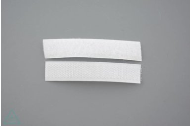 Klittenband 16mm Wit