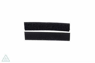 Klittenband 16mm Zwart