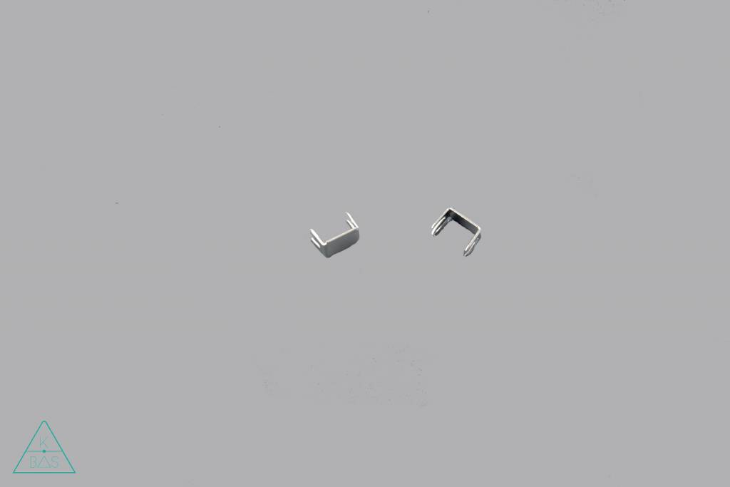 Ritsstop in nikkel (6mm)