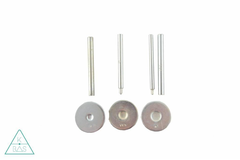 k-bas Set gereedschap voor holnieten en drukknopen