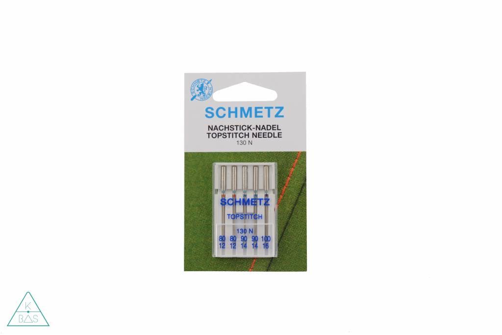 Schmetz Assortiment van 5 topstitch naalden