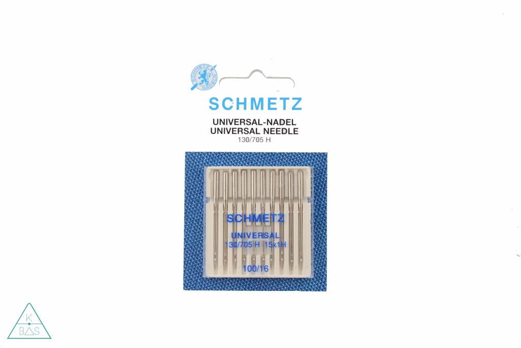 Schmetz Set van 10 standaard naalden, dikte 100/16
