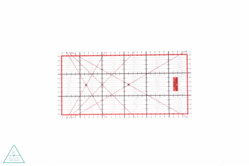 VBS Patchwork lineaal 30 x 15 cm