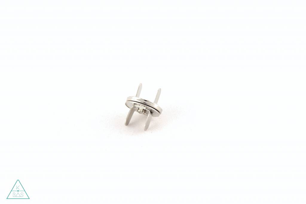 Dunne magneetsluiting Nikkel 14mm, ultra sterk