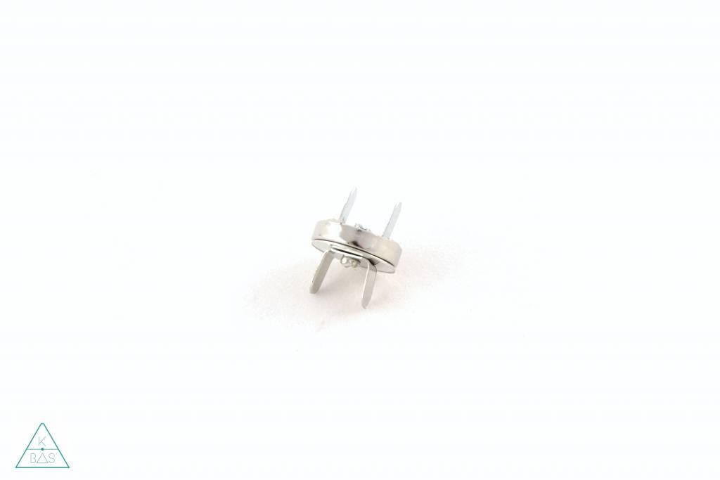 Magneetsluiting Nikkel 14mm