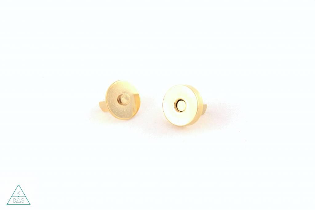 Magneetsluiting Goud 14mm