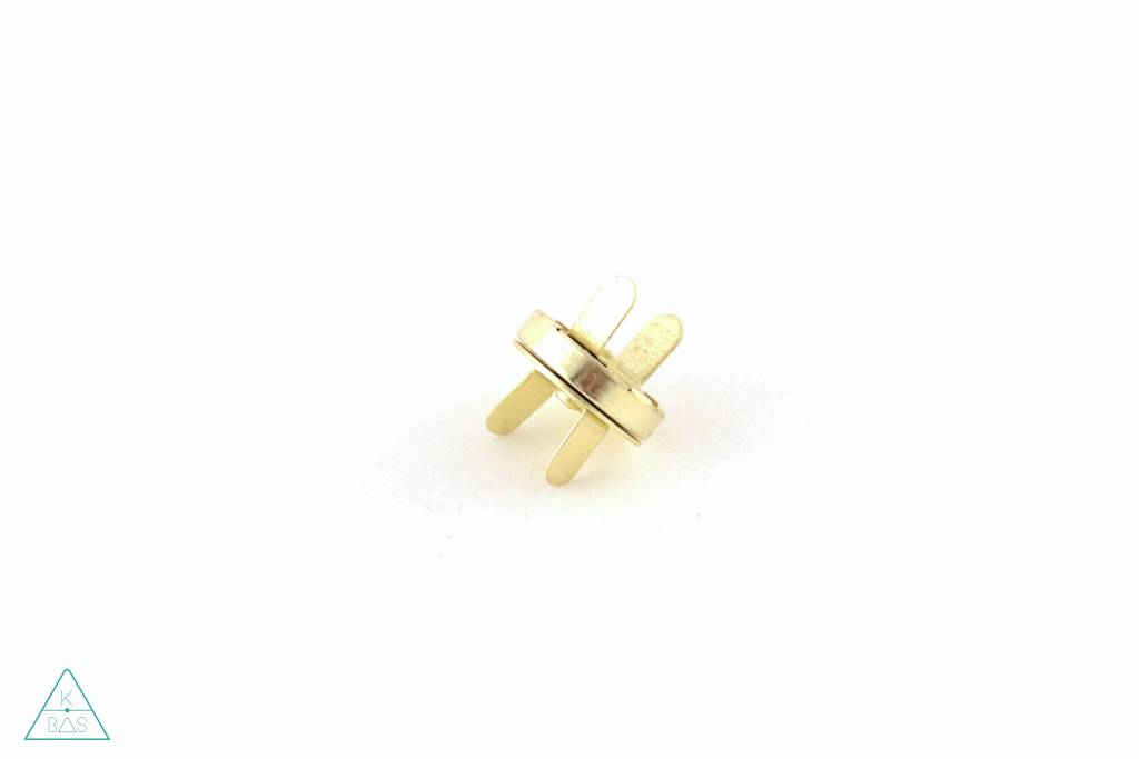 Magneetsluiting Goud 18mm
