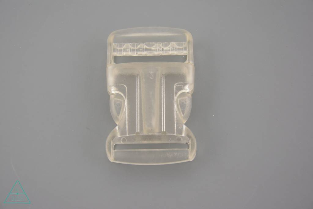 Transparante klikgesp, 32mm