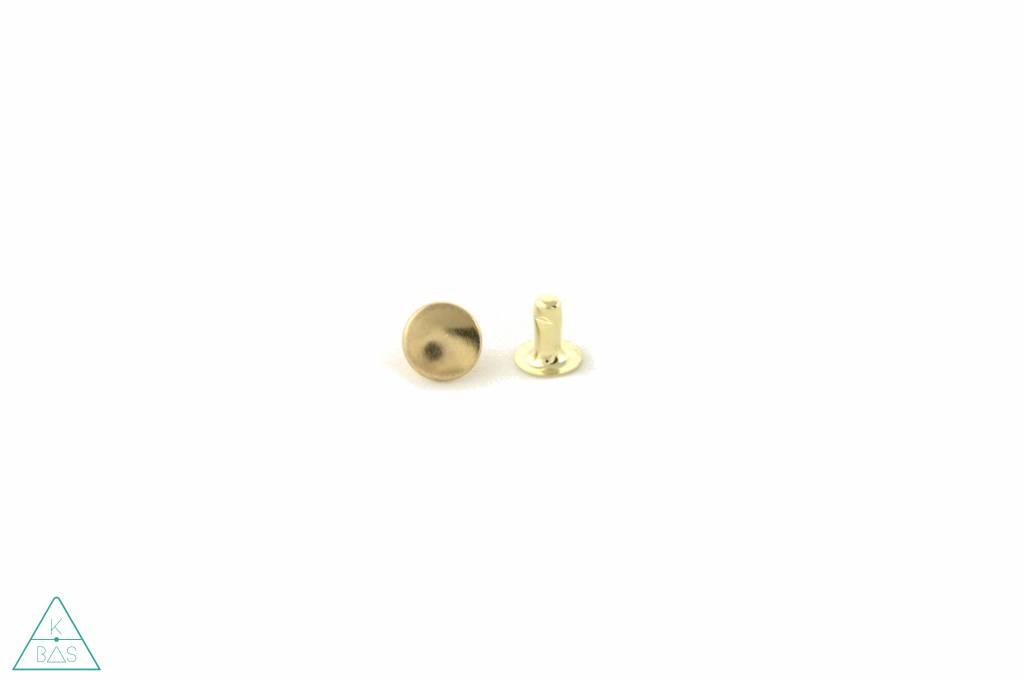 Holnieten Goud 9mm (10st)
