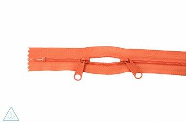 Spiraalrits 75cm met twee trekkers (O-type) Oranje