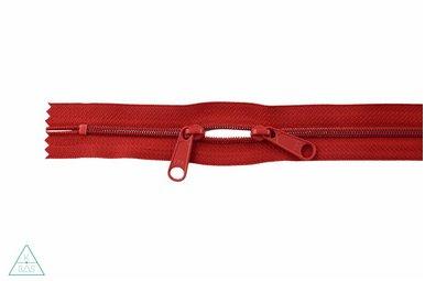 Spiraalrits 75cm met twee trekkers (O-type) Rood