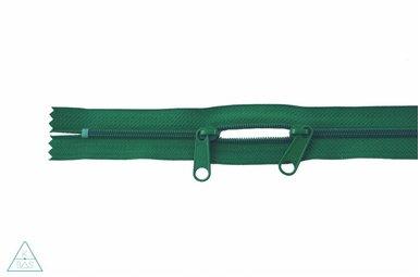 Spiraalrits 75cm met twee trekkers (O-type) Grasgroen