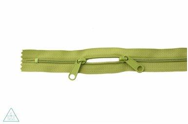 Spiraalrits 75cm met twee trekkers (O-type) Lime