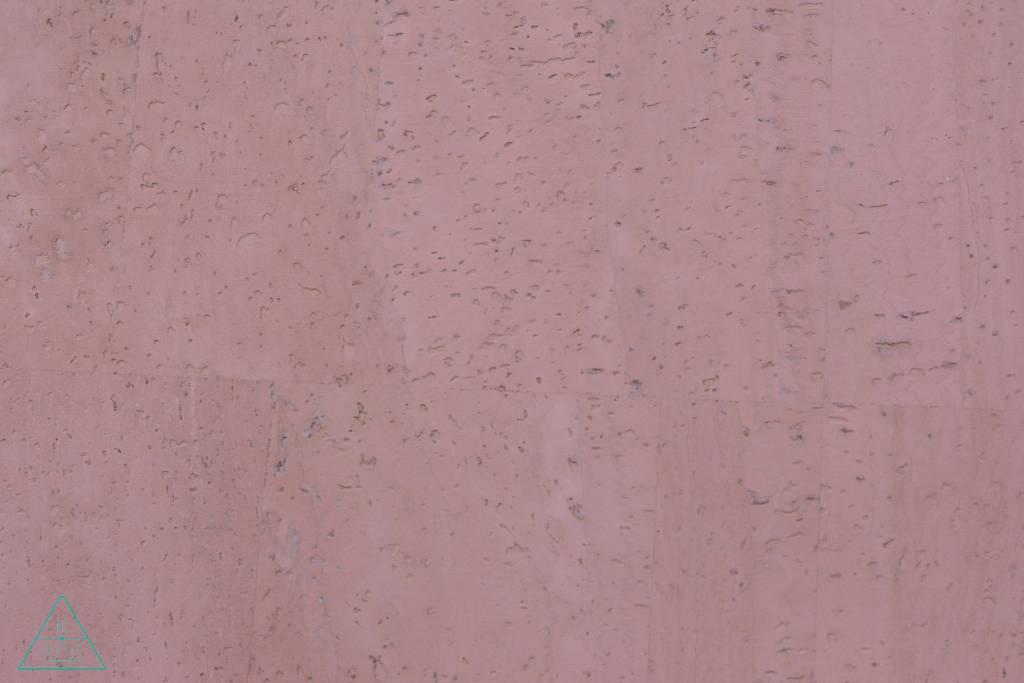 k-bas Kurkleer Pastelroze