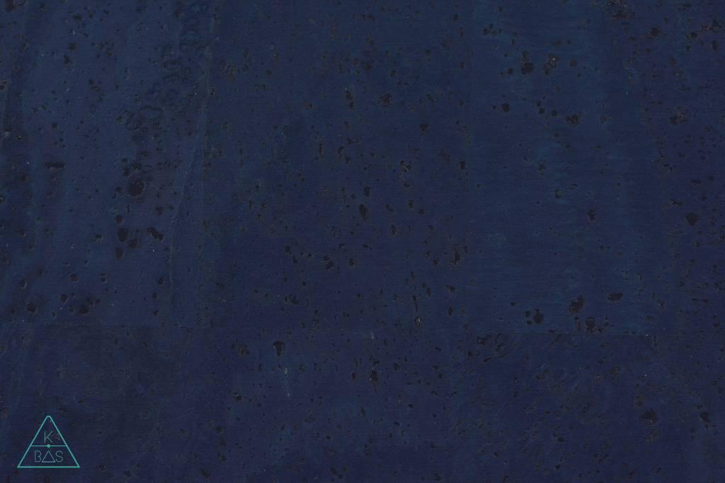 k-bas Kurkleer Donkerblauw