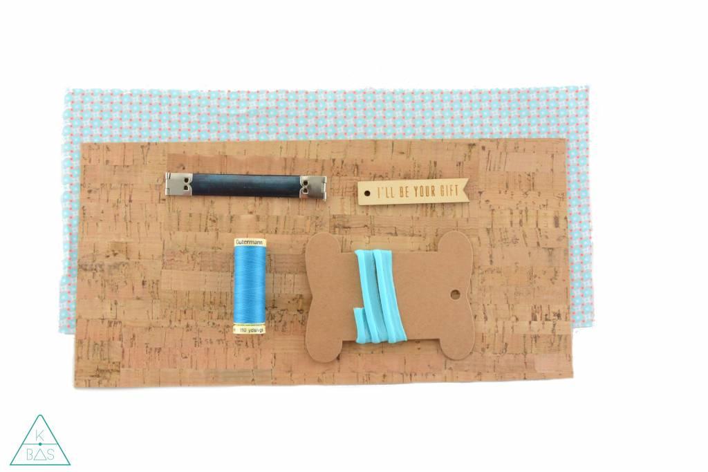 k-bas DIY-set portemonneetje