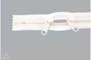 Spiraalrits 75cm met twee trekkers (O-type) Ivoor