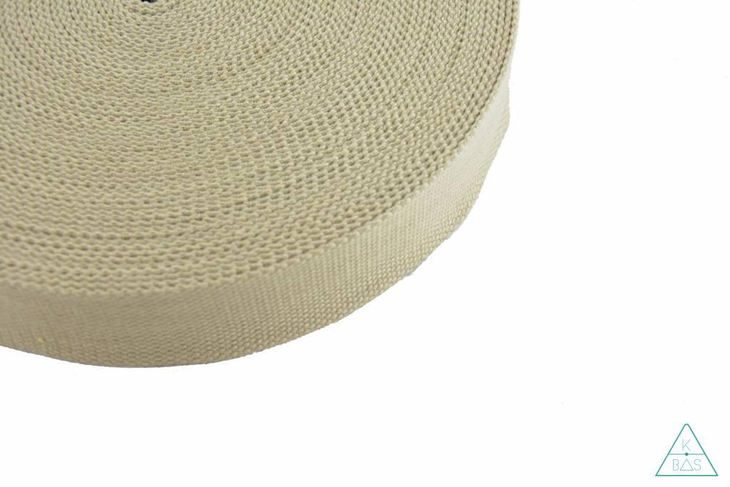 Katoenen tassenband Zand 38mm