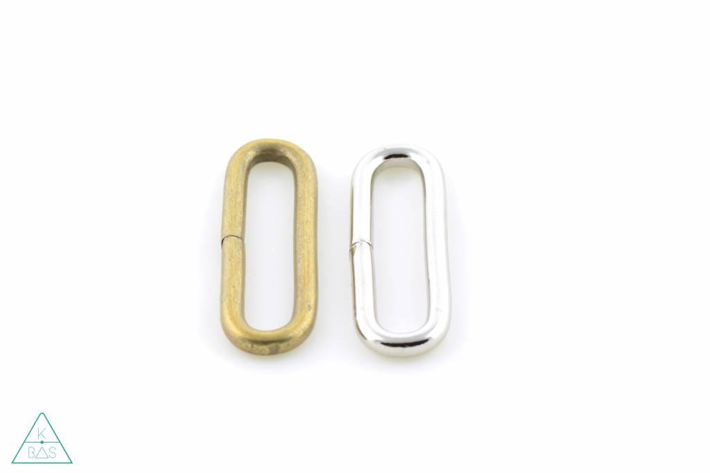Passant Afgerond Brons 50mm - zwaar